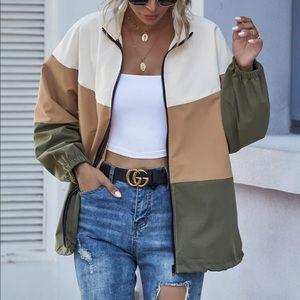 SHEIN Colorblock Jacket